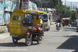 Tricycle on Boracay Island